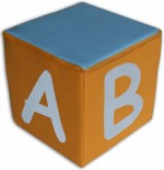 Zestaw kostek - alfabet