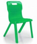 Krzesło jednoczęściowe z polipropylenu Titan 2