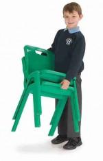 Krzesło jednoczęściowe z polipropylenu Titan 3
