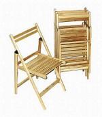 Krzesło drewniane-składane