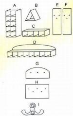 Zestaw przedszkolny - elementy