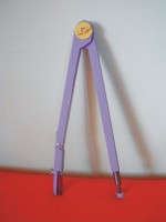 Cyrkiel tablicowy kolorowy (na kredę)