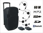 Zestaw Mobilny PP-2112AUS-CB HEAD-LAVALIER